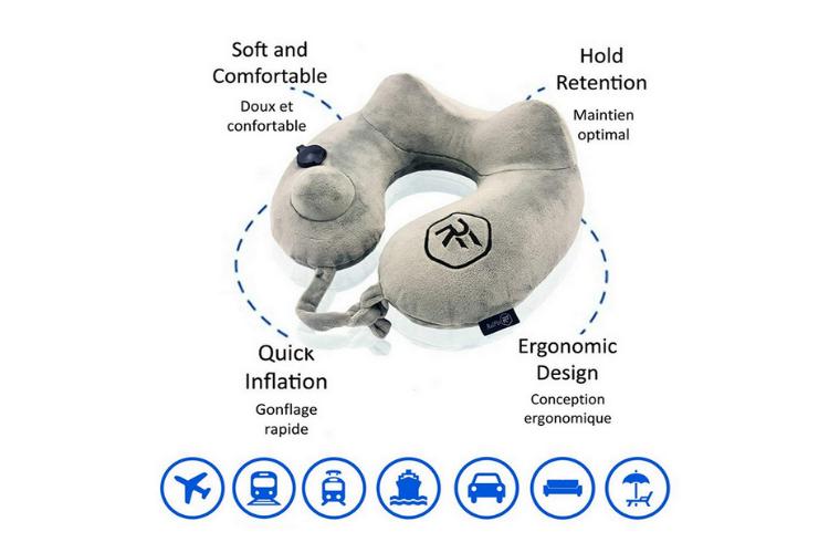 Avis et test RelFit : un coussin de voyage avec un bon rapport qualité prix